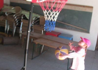 Basketball - der Korb ist aber hoch