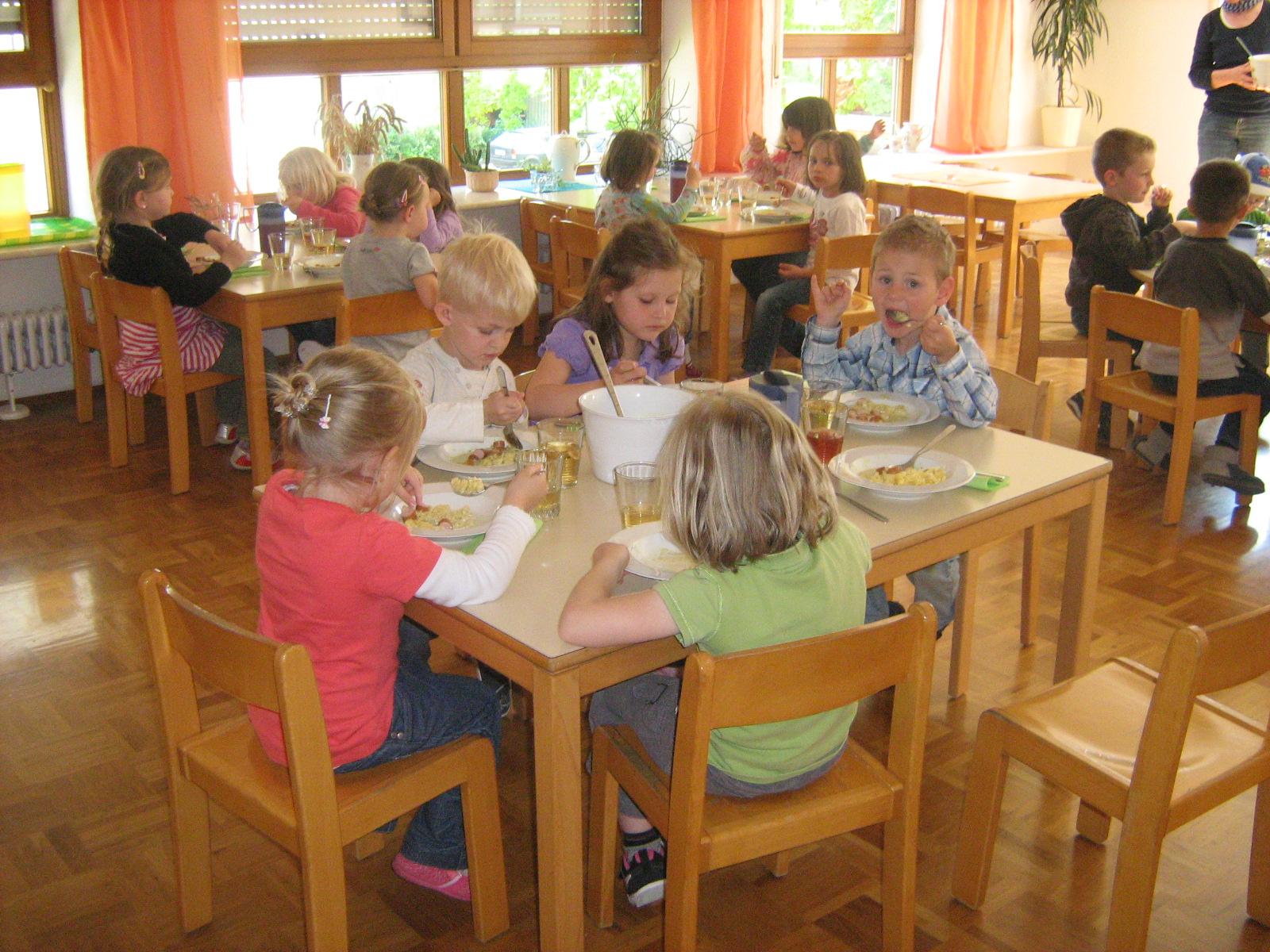 Im Kinderrestaurant