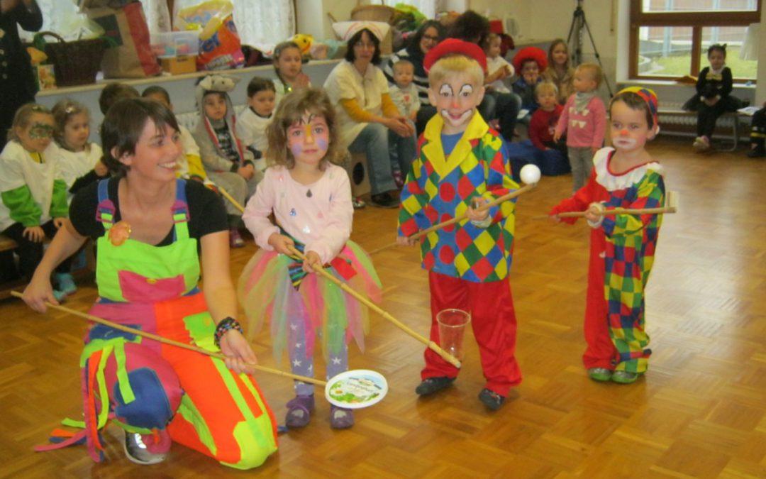 Fasnet im Kindergarten