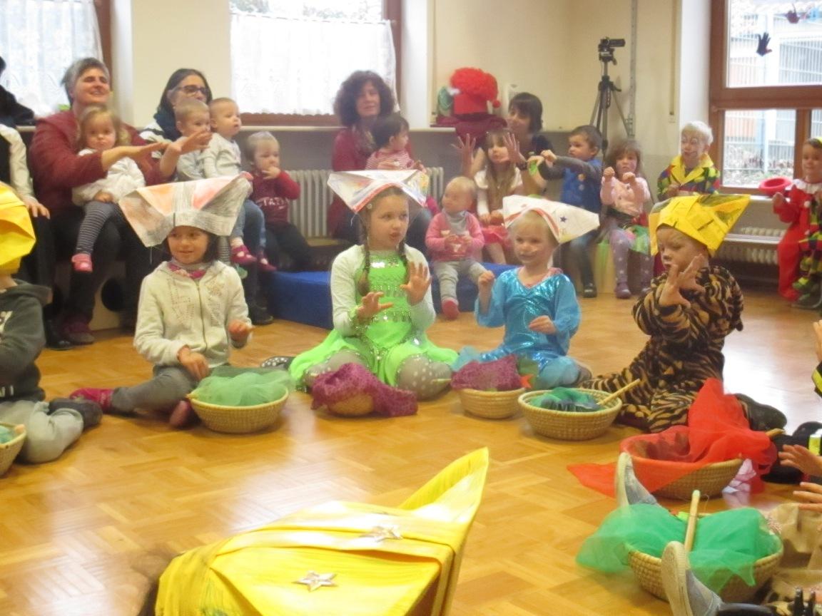 Fasnet Im Kindergarten Kath Kindergarten St Josef Staig