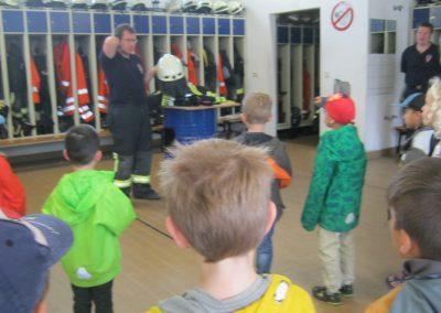 Schutzausrüstung der Feuerwehrleute