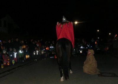 St. Martin auf seinem Pferd