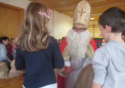 Säckchen vom Nikolaus