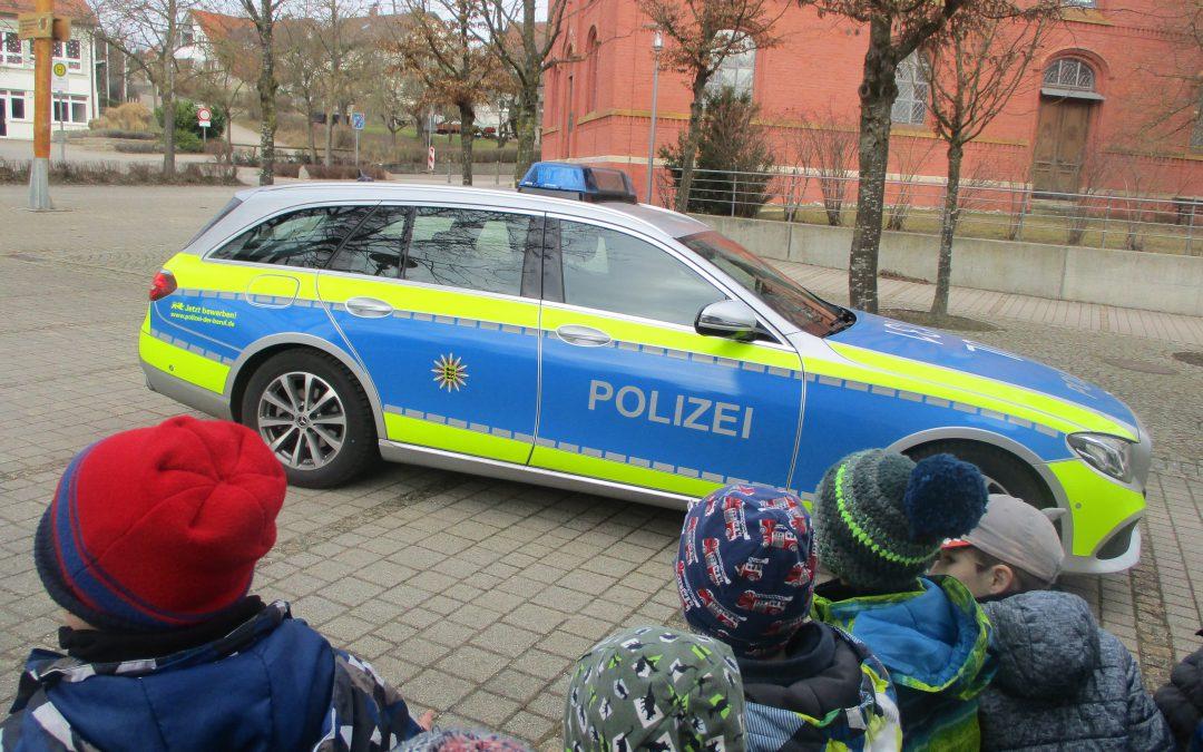 Polizeibesuch im Kindergarten
