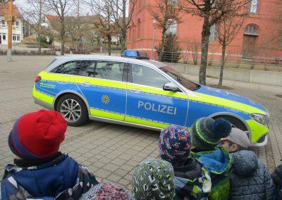 Polizeauto