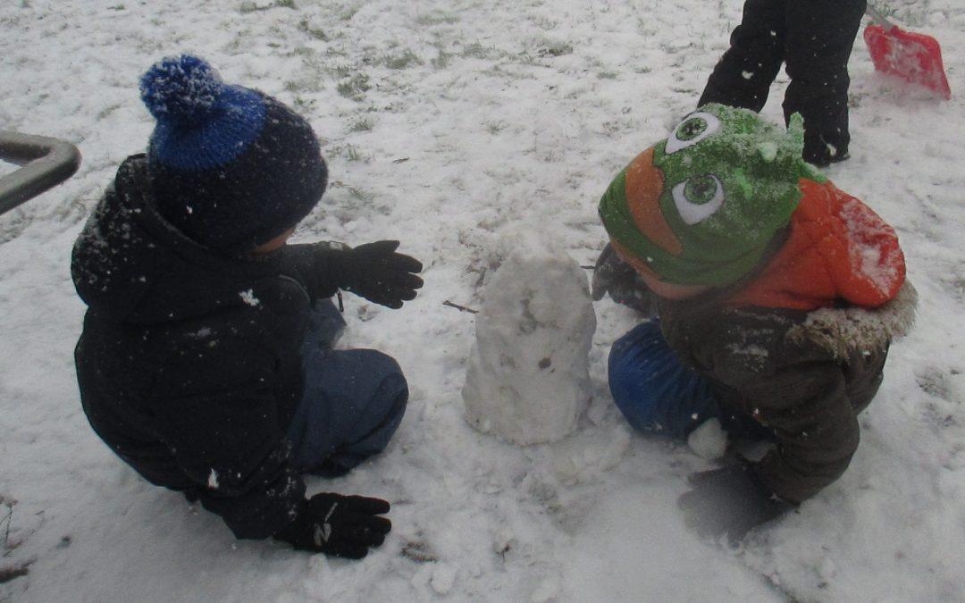 der erste Schnee….