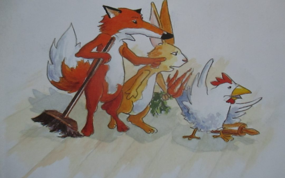 Nina liest vor: Hase, Fuchs und Henne bekommen einen neuen Nachbarn