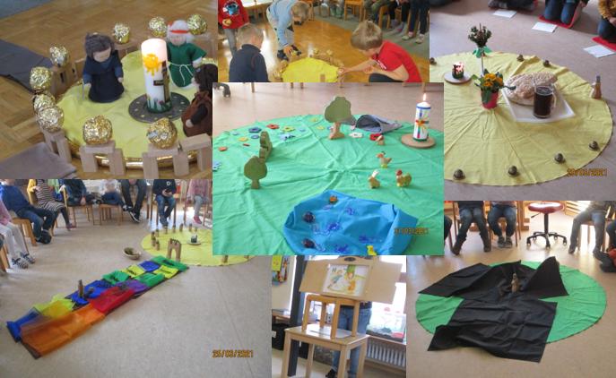 Fastenzeit im Kindergarten